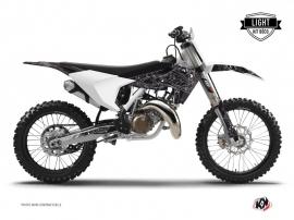 Husqvarna FC 350 Dirt Bike Zombies Dark Graphic Kit Black LIGHT