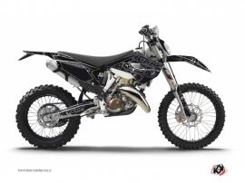 Husqvarna 350 FE Dirt Bike Zombies Dark Graphic Kit Black
