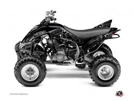 Yamaha 350 Raptor ATV Zombies Dark Graphic Kit Black