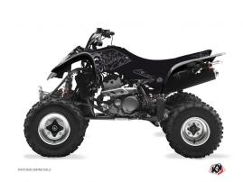 Suzuki 400 LTZ ATV Zombies Dark Graphic Kit Black