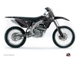 Suzuki 450 RMZ Dirt Bike Zombies Dark Graphic Kit Black