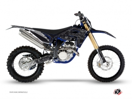 Sherco 450 SEF R Dirt Bike Zombies Dark Graphic Kit Black