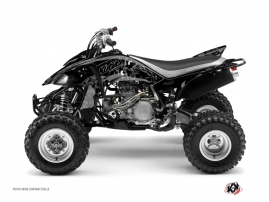 Yamaha 450 YFZ ATV Zombies Dark Graphic Kit Black