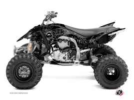 Yamaha 450 YFZ R ATV Zombies Dark Graphic Kit Black