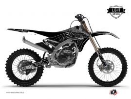 Yamaha 450 YZF Dirt Bike Zombies Dark Graphic Kit Black LIGHT
