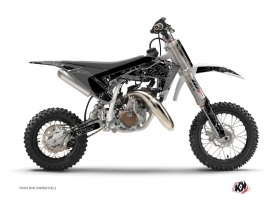 Husqvarna TC 50 Dirt Bike Zombies Dark Graphic Kit Black