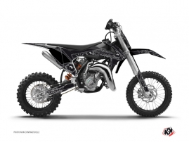 KTM 50 SX Dirt Bike Zombies Dark Graphic Kit Black