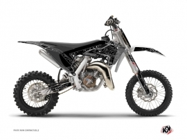 Husqvarna TC 65 Dirt Bike Zombies Dark Graphic Kit Black
