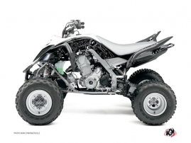 Yamaha 660 Raptor ATV Zombies Dark Graphic Kit Black