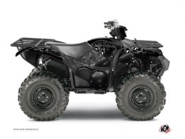 Yamaha 700-708 Grizzly ATV Zombies Dark Graphic Kit Black
