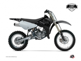 Suzuki 85 RM Dirt Bike Zombies Dark Graphic Kit Black LIGHT