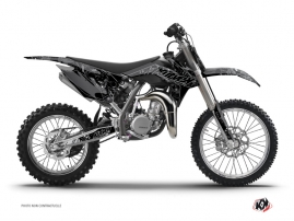 KTM 85 SX Dirt Bike Zombies Dark Graphic Kit Black