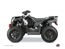Polaris Scrambler 850-1000 XP ATV Zombies Dark Graphic Kit Black