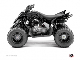 Yamaha 90 Raptor ATV Zombies Dark Graphic Kit Black