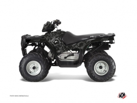 Polaris 90 Sportsman ATV Zombies Dark Graphic Kit Black