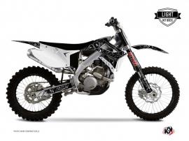 Kit Déco Moto Cross Zombies Dark TM MX 250 Noir LIGHT
