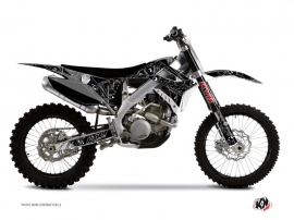 TM MX 450 FI Dirt Bike Zombies Dark Graphic Kit Black
