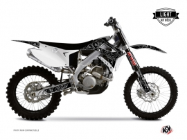 TM MX 450 FI Dirt Bike Zombies Dark Graphic Kit Black LIGHT