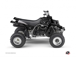 Yamaha Banshee ATV Zombies Dark Graphic Kit Black