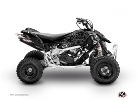 Can Am DS 450 ATV Zombies Dark Graphic Kit Black