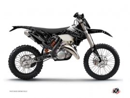 KTM EXC-EXCF Dirt Bike Zombies Dark Graphic Kit Black