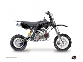 Kit Déco Moto Cross Zombies Dark YCF F125 Noir