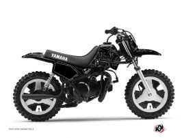 Kit Déco Moto Cross Zombies Dark Yamaha PW 50 Noir